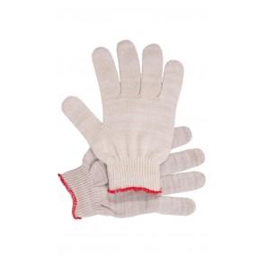 Перчатки рабочие без ПВХ 10-й класс белые 5-и нитка